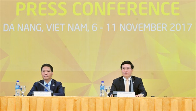APEC ministers agree on key initiatives
