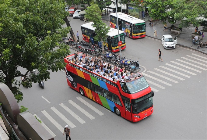 Double-decker tour bus coming to Hà Nội
