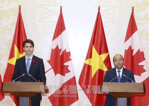 Việt Nam - Canada Joint statement