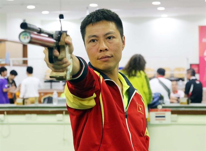 VN earn bronze at Asian air pistol champs