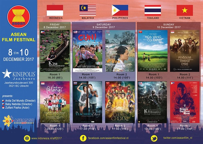 Vietnamese films screened at ASEAN festival in Netherlands