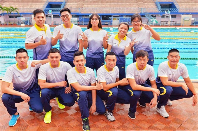 Finswimmers top podiums set record at Asian championships