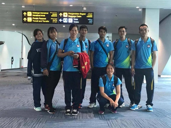 Vietnamese rowers secure five golds at Asian Cup
