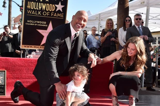 Dwayne The Rock Johnson honoured with Hollywood star
