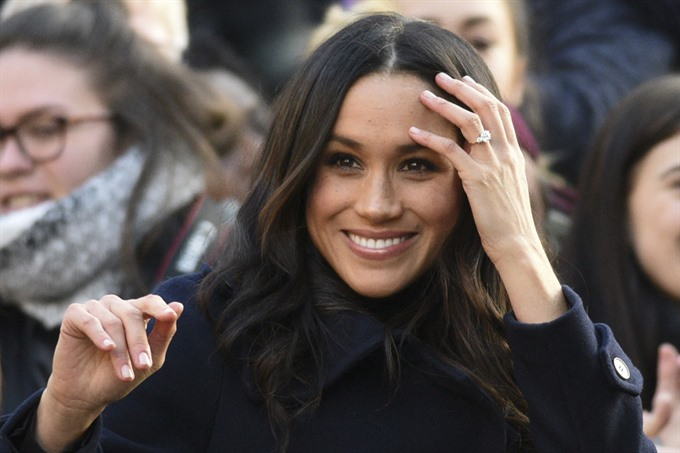 Markle adds sparkle to British royal Christmas