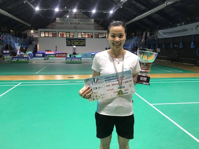 Linh wins Yonex Italian International