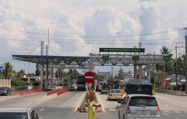 Cần Thơ – Phụng Hiệp station slashes tolls