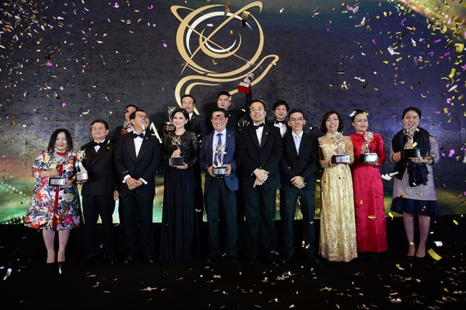 Awards honour 14 business leaders in Việt Nam