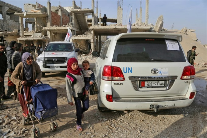 UN renews aid to Syria opposition areas as Russia abstains