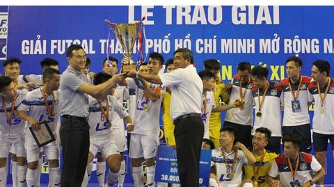 Thái Sơn Nam win HCM City open futsal event