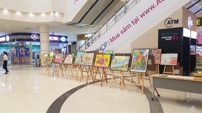 Drawing exhibition promotes safe farm produce