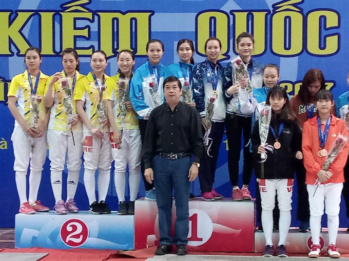 Hà Nội wins title in national fencing champs