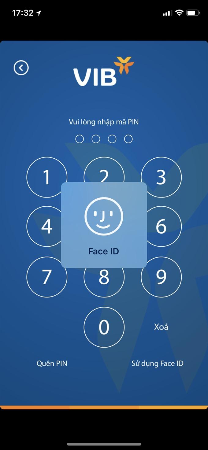 VIB rolls out biometric authentication logins