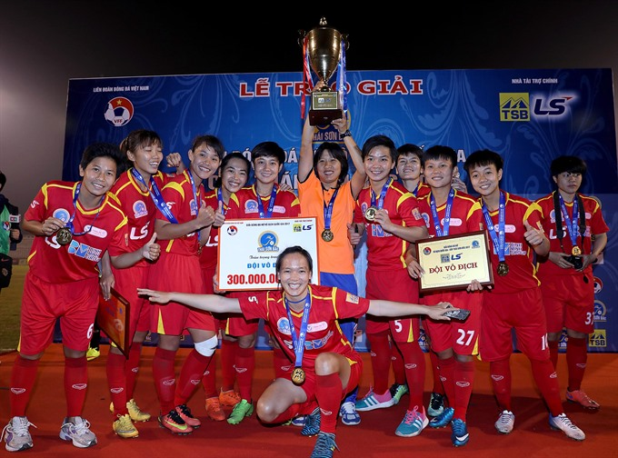 HCM City win record third national title