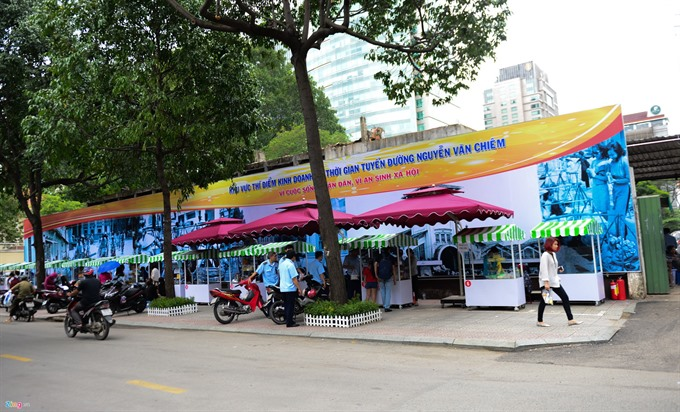 HCM City sets ups plans for street vendors