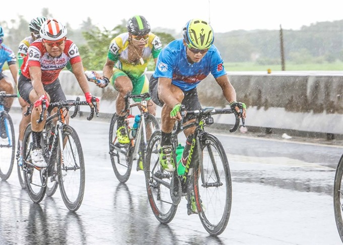 Minh a victor at Bình Dương cycling race