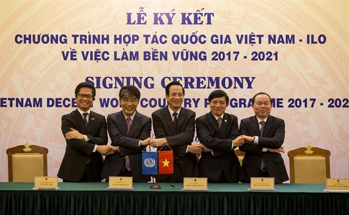 New framework sets Việt Nam-ILO cooperation