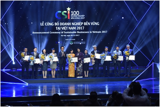 Việt Nams 100 most sustainable firms honored