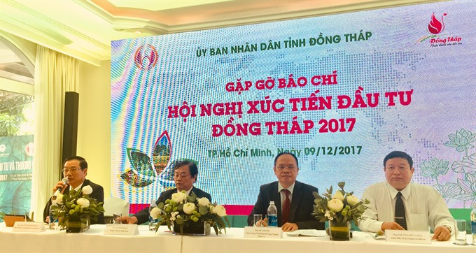 Đồng Tháp to host investment promotion conference