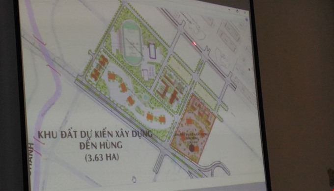 Cần Thơ to build Hùng Kings Temple in admin centre