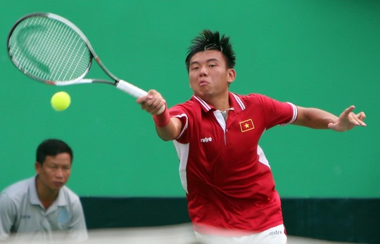 Nam fails in singles enters semi-finals in doubles