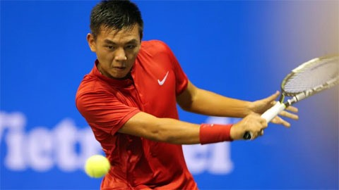 Nam knocked out of China F1 tennis