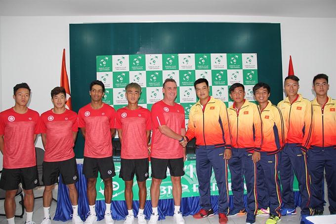 Davis Cup: VN look to beat Hong Kong