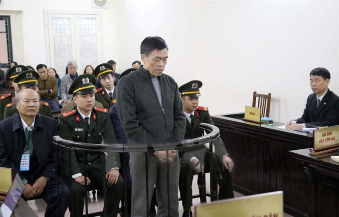 Two executions one life sentence in Vinashin case