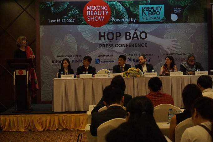 Mekong Beauty Show to show off cosmetics in HCM City