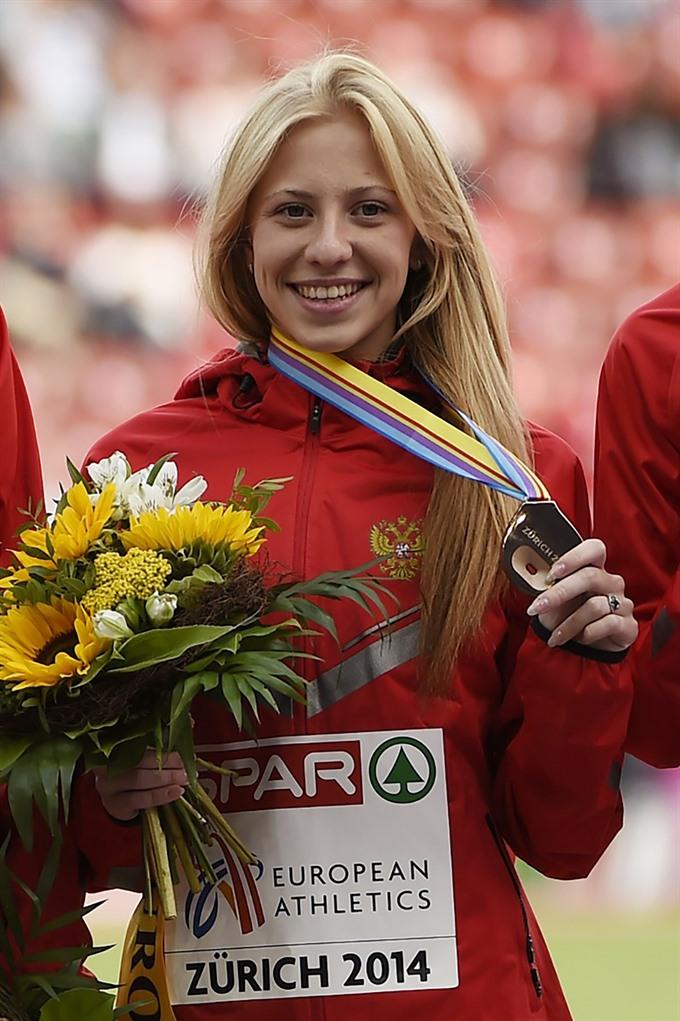 IAAF green light for three Russian athletes