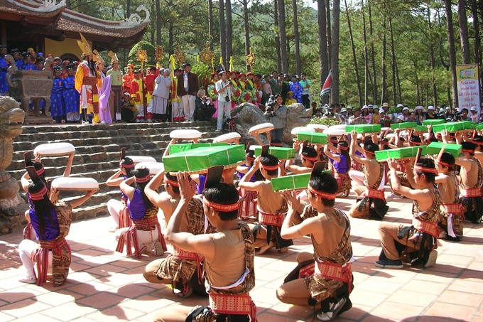 Hùng kings death anniversaries commemorated for six days