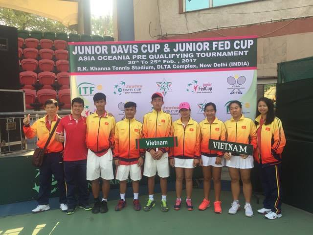 Việt Nam lose in Junior Davis Cup semis