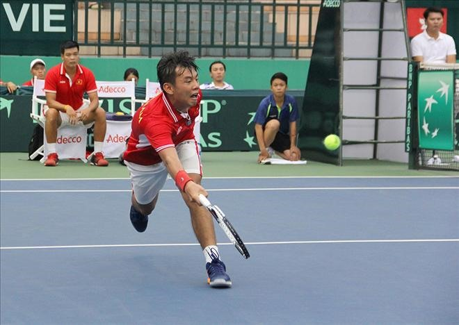 Việt Nam lose to Hong Kong at Davis Cup