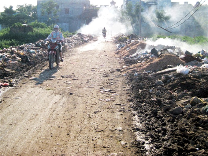 Bắc Ninh trade villages face major pollution