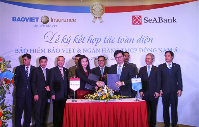 Bảo Việt signs co-operation agreement with Seabank