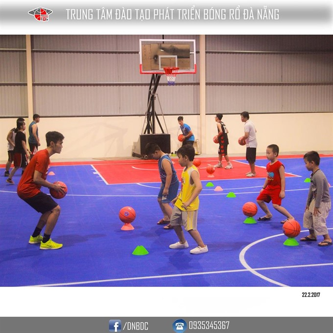 Basketball training centre debuts for youngsters