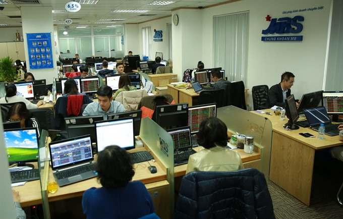 VN Index falls for 2nd day on banks