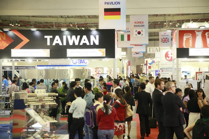 Annual packaging industry exhibition this month