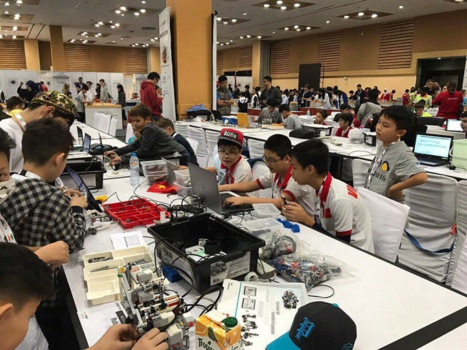 Robot Talent Contest for students announced