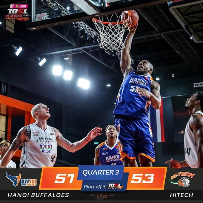 Buffaloes enter Thailand Super Basketball League
