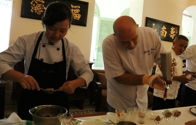 French culinary event features 24 restaurants from Việt Nam