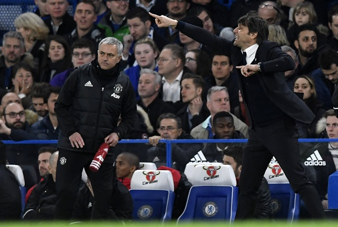 Conte Mourinho feud boils over after Cup clash
