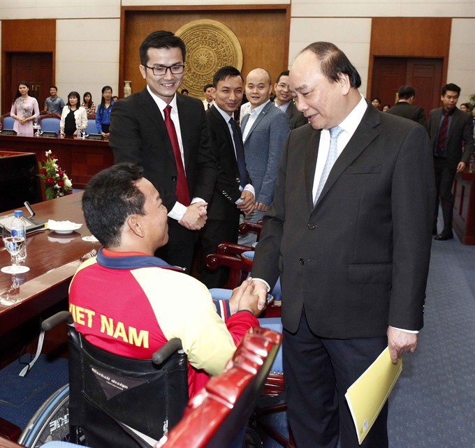 PM promises optimal support to young talents