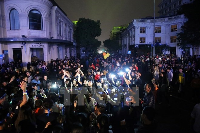 Hà Nội to switch off for Earth Hour 2017