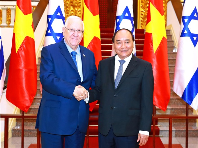 Israeli President wants to expand co-operation with Việt Nam
