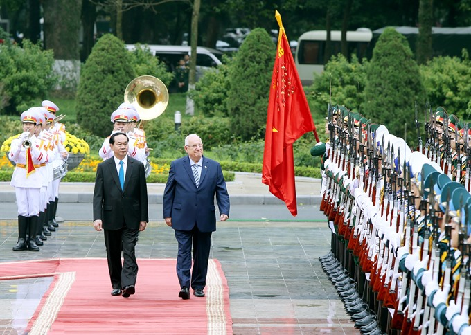 Israel to deepen friendship co-operation with Việt Nam