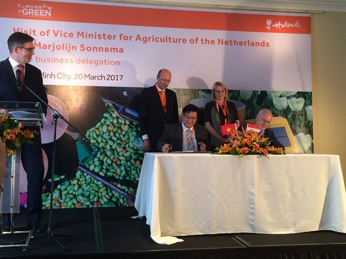 VN Netherlands to up agriculture ties