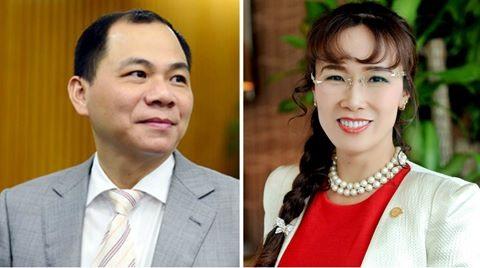 Two Vietnamese in Forbes billionaires list