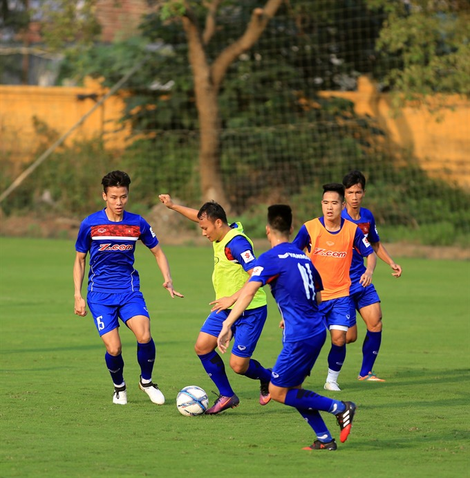 Việt Nam Chinese Taipei warm-up for Asian Cup