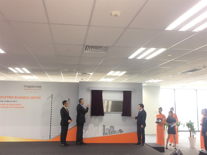 Mapletree Ltd opens office tower in Việt Nam